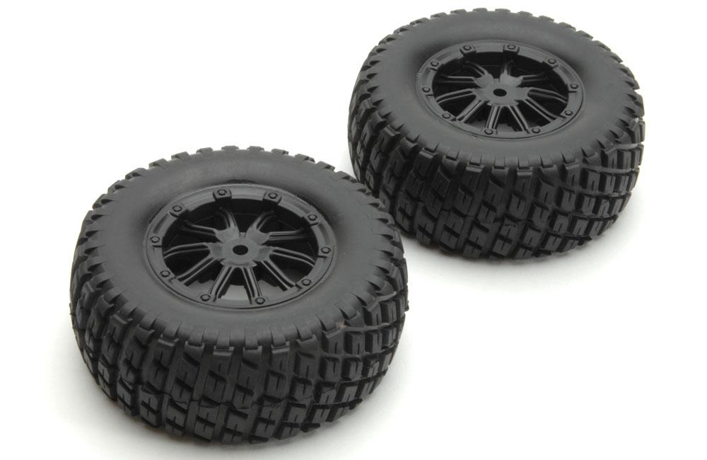 8135-001 - Roda com Pneu Tire Complete (black Rims) (2 unid)