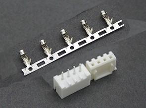 81601 - Conector balanceador Macho/Femea (3S) 4 Pinos JST-XH