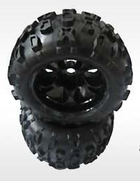 8382-704 - Rodas e Pneus para Maximus 1/8 Truck (2pcs)