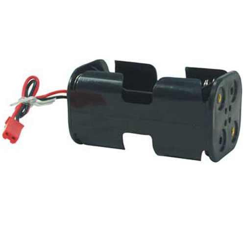 BH001 - Suporte para 4 Pilhas AA - Plug JST