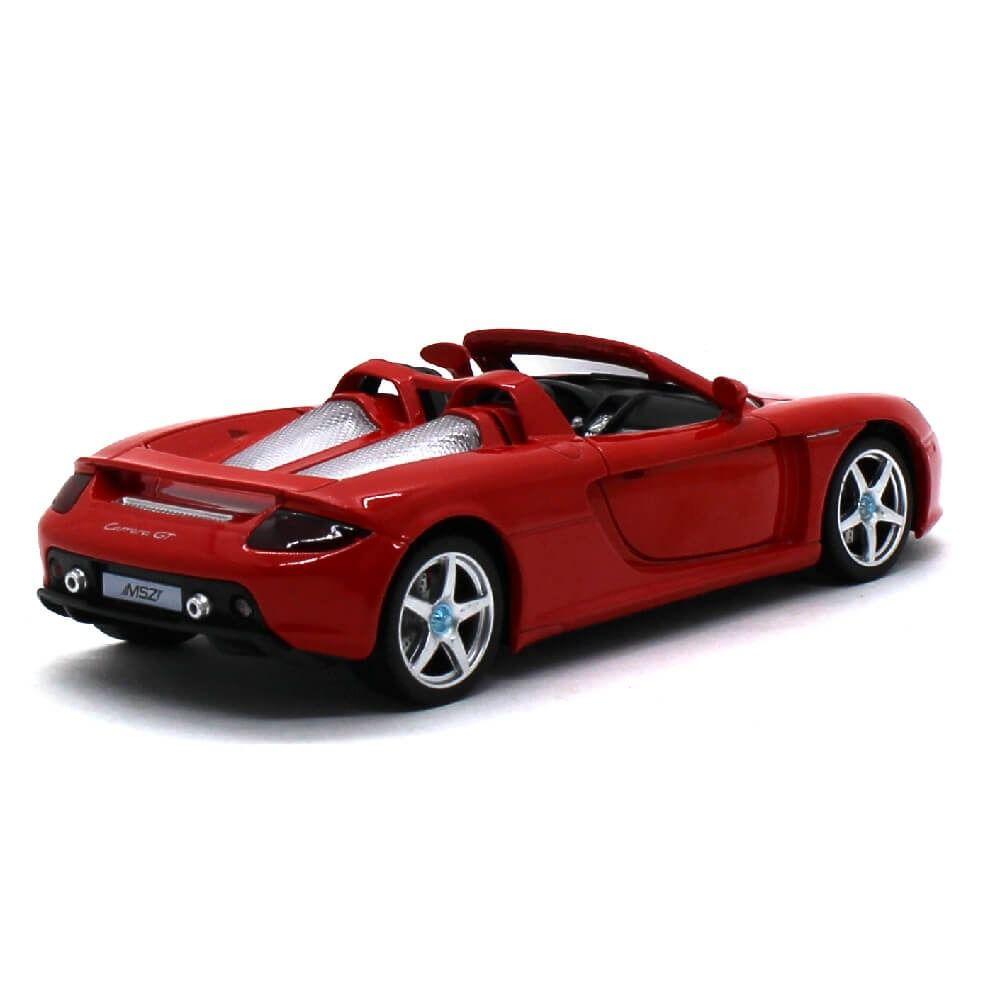 CAL68242A - Porsche Carrera GT com Luz e Som 1/24 Vermelho