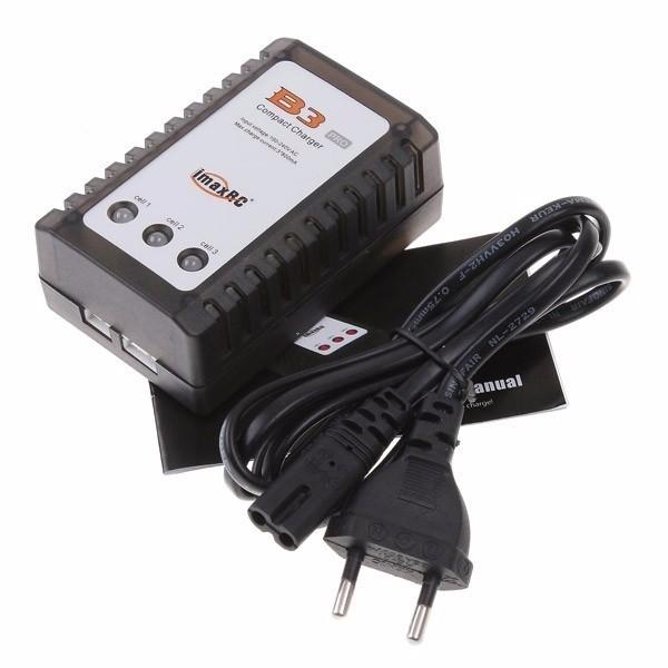 471014 - Carregador de Bateria LiPo 2S/3S Imax B3 - Fonte Embutida 110/220v