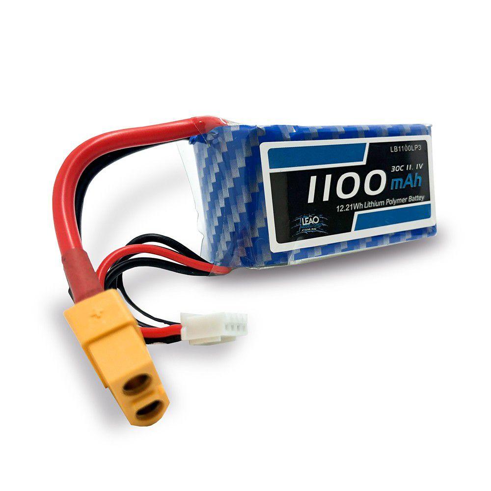 LB1100LP3 - Bateria Lipo - 11.1V - 3S - 1100mAh - 30C/60C - XT60