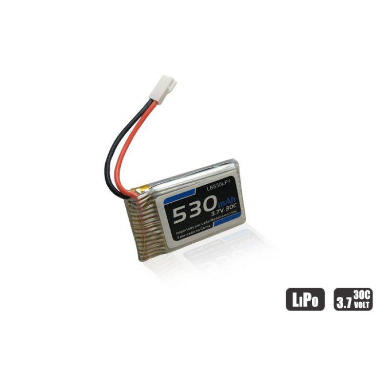 LB530LP1 - Bateria Lipo - 3.7V - 1S - 530mAh - 30/60C Mini Drone Heli