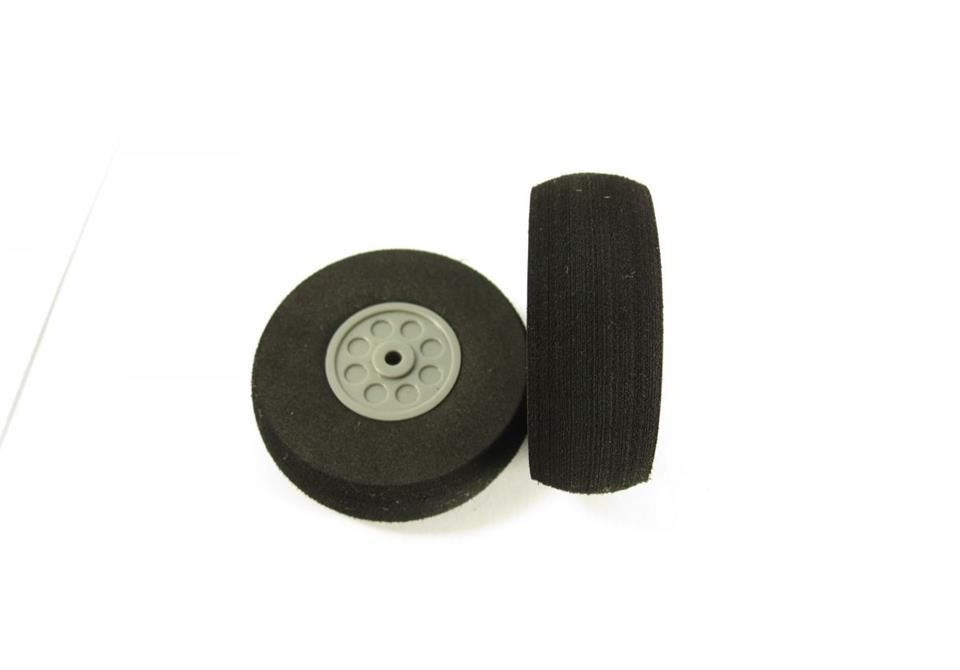 LHP-0978 - Pneu 30 - espuma com cubo nylon - 30 x 11mm - Par