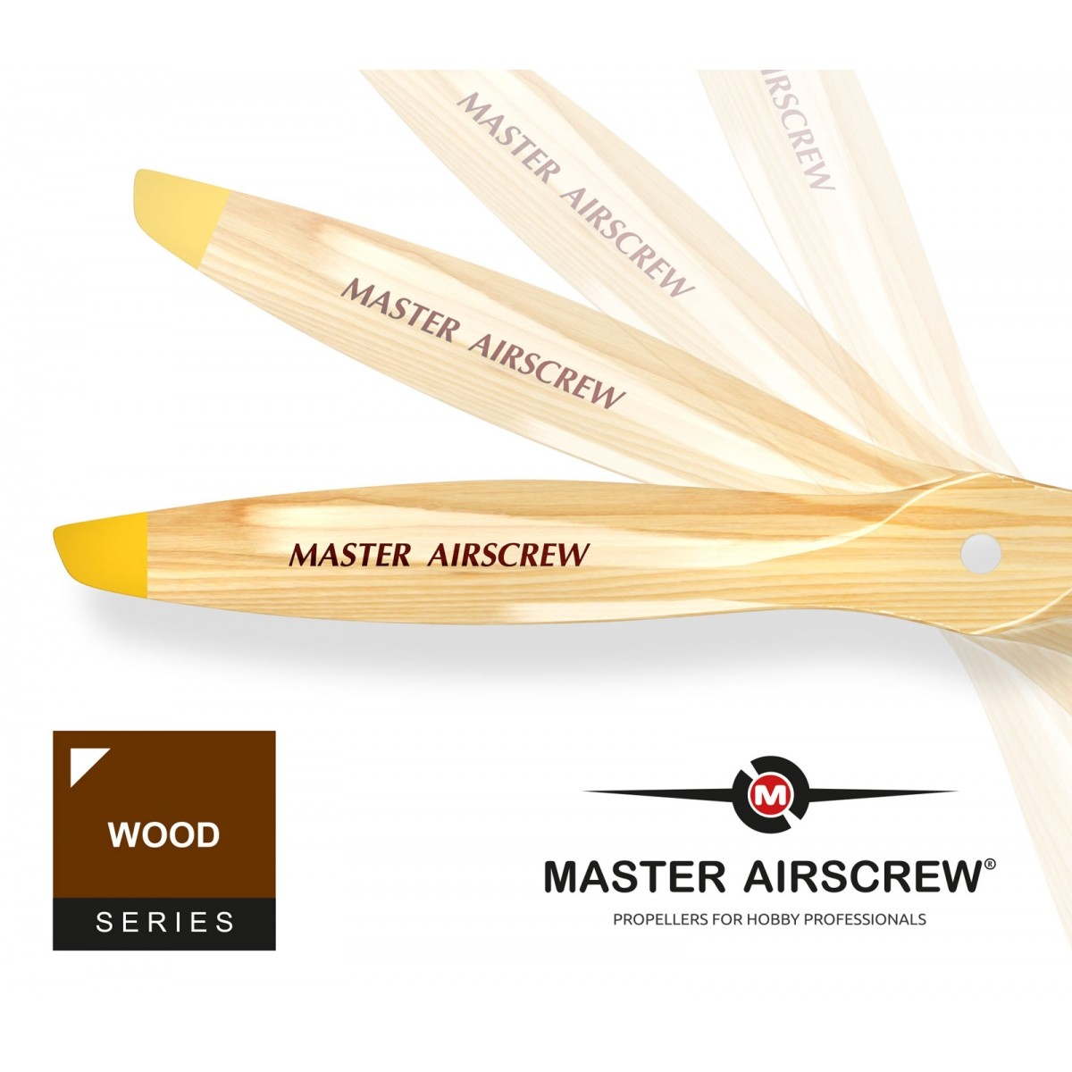 MA1660B - Hélice Master Airscrew Wood Series 16X6