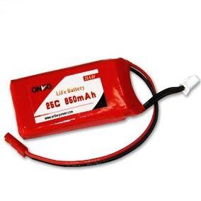 OPLIFE850252S - Bateria LiFe 850mah 6.6v (2S) 25C