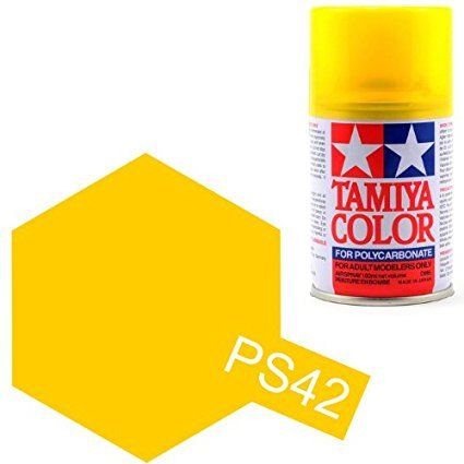 PS-42 - Tinta Spray Translucent Yellow Tamiya - 100ml