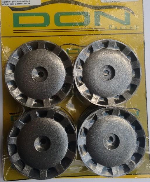 R-19 - Roda NV-12 Chumbo 1/10 escala (4und)