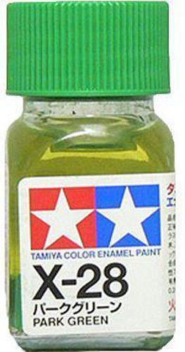 X-28 - Tinta Emanel Mini Park Green Tamiya - 10ml