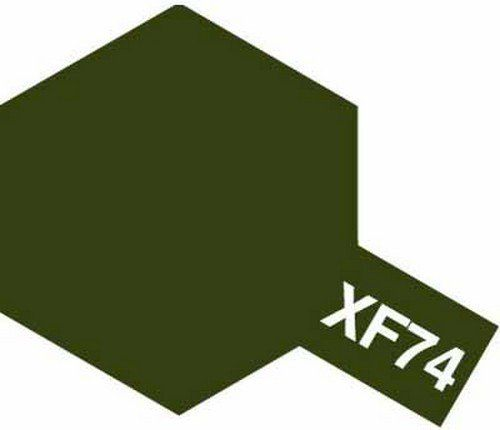 XF-74 - Tinta Emanel Mini Olive Drab (JGSDF) Tamiya - 10ml