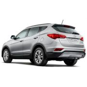 Vidro Porta Dianteira Esquerda Hyundai Santa Fe 2013/...