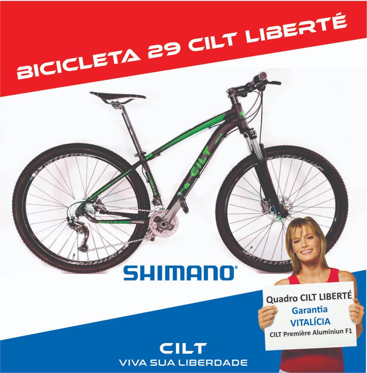 61ec715c8976e Bicicleta 29 Cilt Liberté Shimano Slx 11v Freio Hidráulico L11a ...