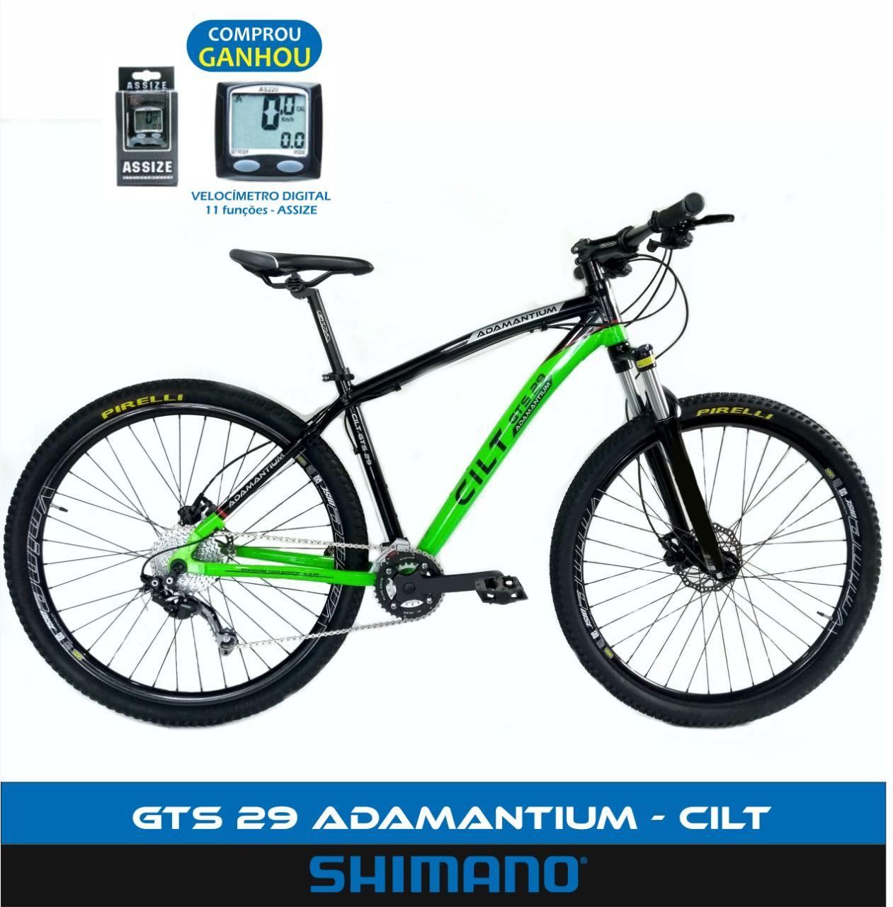 9a93ca1c7 Bicicleta 29 Gts Adamantium 27v Alivio Shimano Freio Hidráulico - Expert