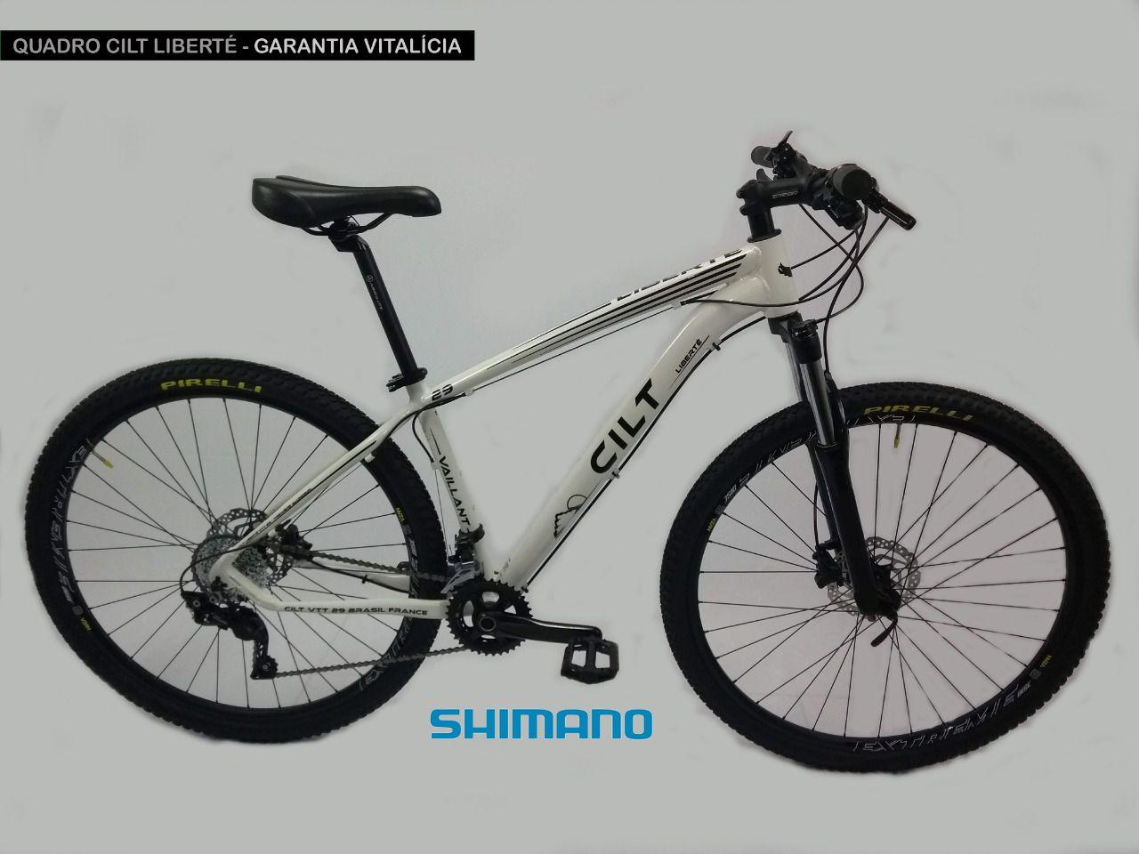 7ec2a9bb4edee Bicicleta aro 29 Cilt Liberté 24v Shimano Freio Hidráulico L150 ...