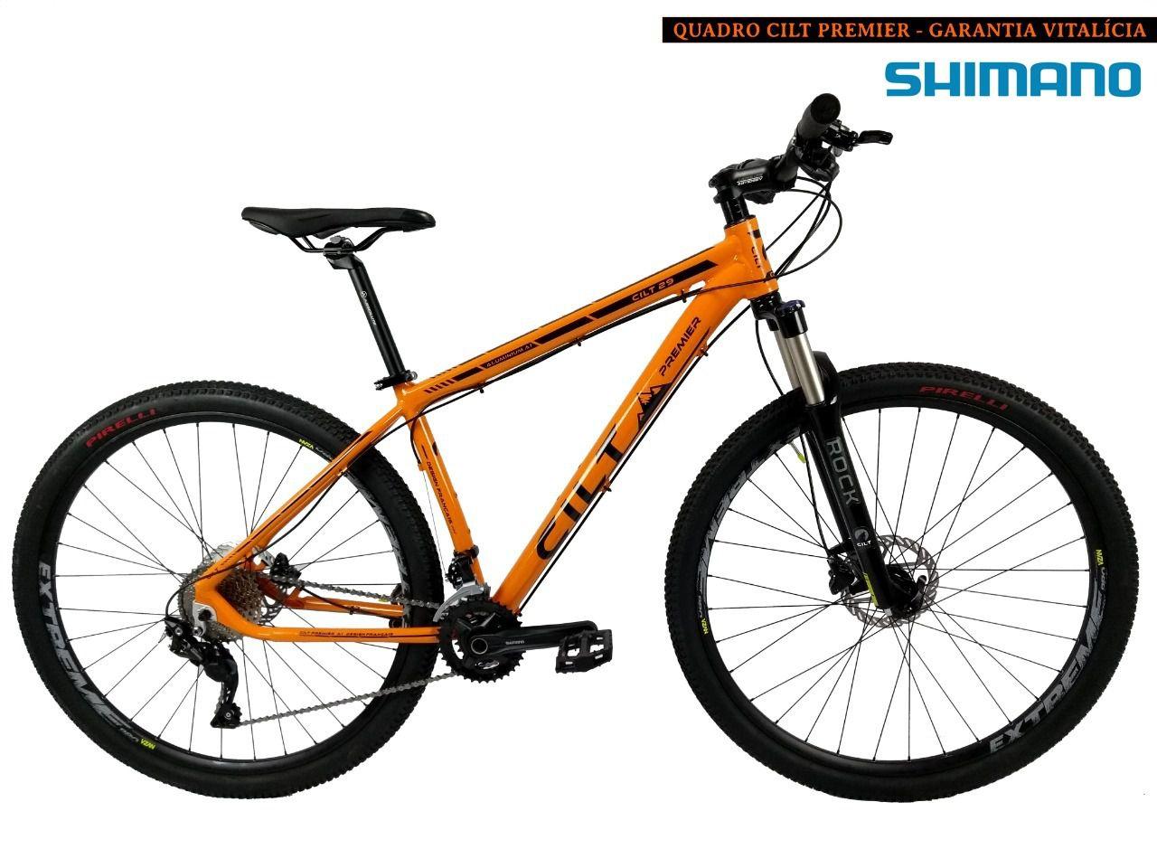 3c96b3114 Bicicleta aro 29 Cilt Premier 24v Shimano Freio Hidráulico P130 ...
