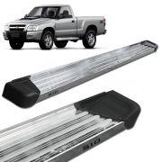 Estribo Lateral S10 CS 1995 a 2011 Aluminio Polido A3