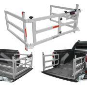 Extensor Caçamba S-10 2012 a 2020 Divisor Dobrável