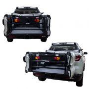 Extensor de Caçamba para Fiat Toro com Divisor Cargas