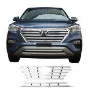 Sobre Grade Hyundai Creta 2017 MAX em Aço Inox