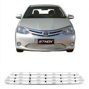 Sobre Grade Toyota Etios 2013/2015 Modelo Elite em Aço Inox