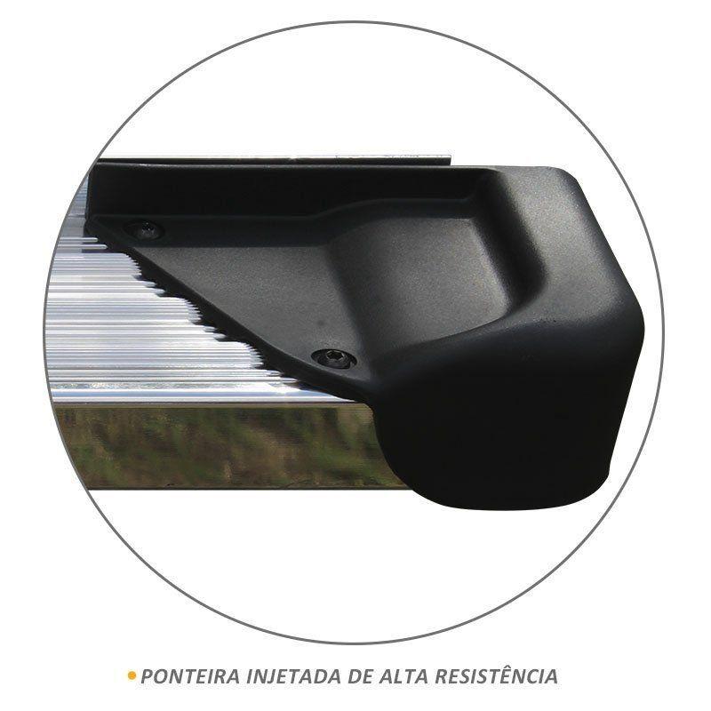 Estribo S10 CD 2012 a 2018 em Alumínio Polido Modelo A3