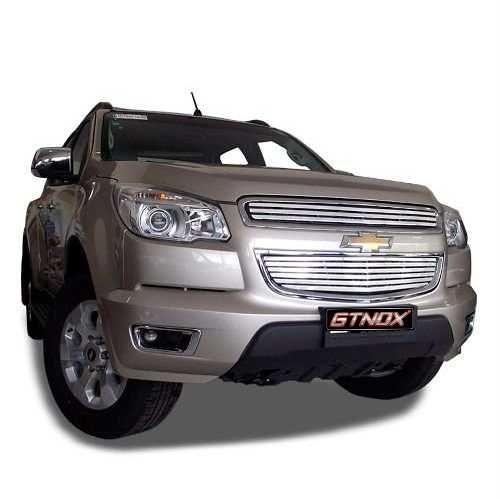 Sobre Grade Nova S10 2012 a 2014 Aço Inox Modelo Slim
