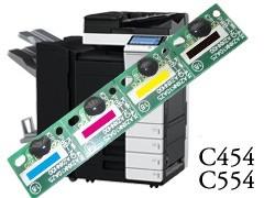 Kit Chip Reset Unidade De Imagem Konica Minolta C454/C554/C454e/554e/