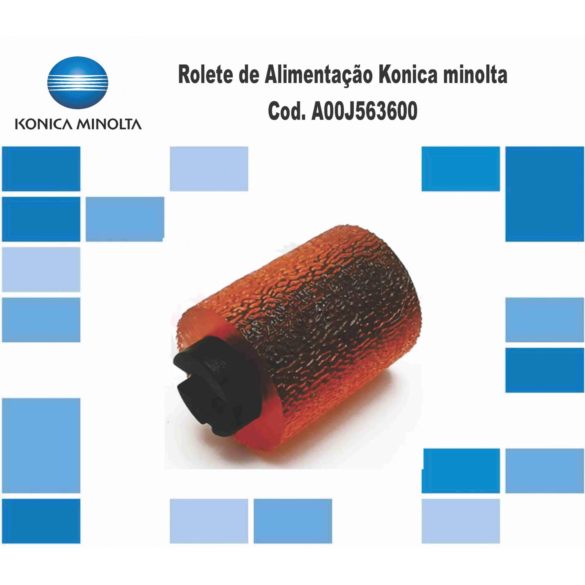 Rolete Da Gaveta Konica Minolta Bizhub Cod. A00J563600