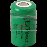 BATERIA 1/2A 1100MAH 1,2V NI-MH EXPOWER