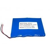 BATERIA 3,7V 1600MAH LI-PO RECARREGAVEL 68X56X76 COM PCM