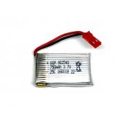 BATERIA 3,7V 750MAH LI-PO RECARREGAVEL 902540 COM CONECTOR JST 25C