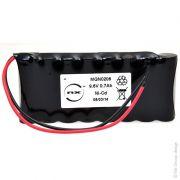 Bateria 9,6v 700mah Dorma Es100, Dorma Es90 Ni-cd 2 Fios