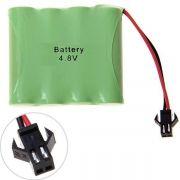 Bateria Carrinho 4,8v Aa 1000mah Ni-cd Com Conector Smp 02