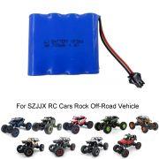 Bateria Carrinho Szjjx Rc 4,8v 700mah Rock Off-road Vehicle