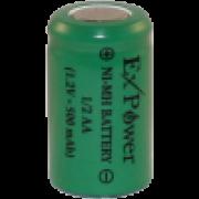 BATERIA EXPOWER 1/2AA 500MAH 1,2V NI-MH
