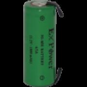 BATERIA EXPOWER 4/5A 1800MAH 1,2V NI-MH COM TERMINAL