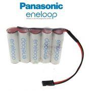 Bateria Futaba 6v Aa 2000mah Ni-mh Panasonic Eneloop