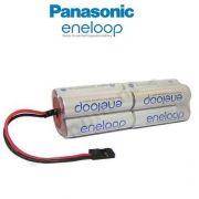 Bateria Futaba 9,6v Aa 2000mah Panasonic Eneloop Ni-mh