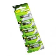 Bateria GP Alcalina 27A 12v - Cartela C/ 5unidades