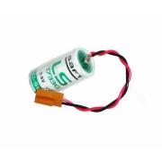 BATERIA SAFT LS17330 3,6V LITHIUM COM CONECTOR