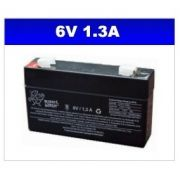 BATERIA SELADA 6V 1,3AH PLANET BATTERY