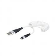 CABO DE DADOS USB MICRO USB V8 TURBO 3.0A 1,2 METROS ESPIRAL
