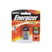 Pilha Alcalina Energizer AAA2 Cartela C/2