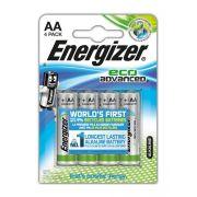 Pilha Energizer Eco Advanced Pequena Aa4