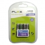 Pilha Recarregável Flex AAA Palito 1300mAh com 4 Unidades Nimh 1.2v no Blister FX-AAA13B4