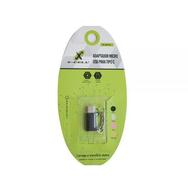 ADAPTADOR CONECTOR MICRO USB P/ TYPE C
