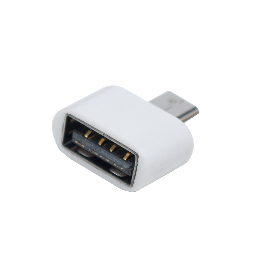 ADAPTADOR OTG-USB FEMEA PARA MICRO USB MACHO