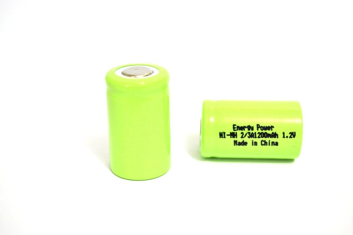 Bateria 2/3a 1200mah 1,2v Energy Power Ni-mh
