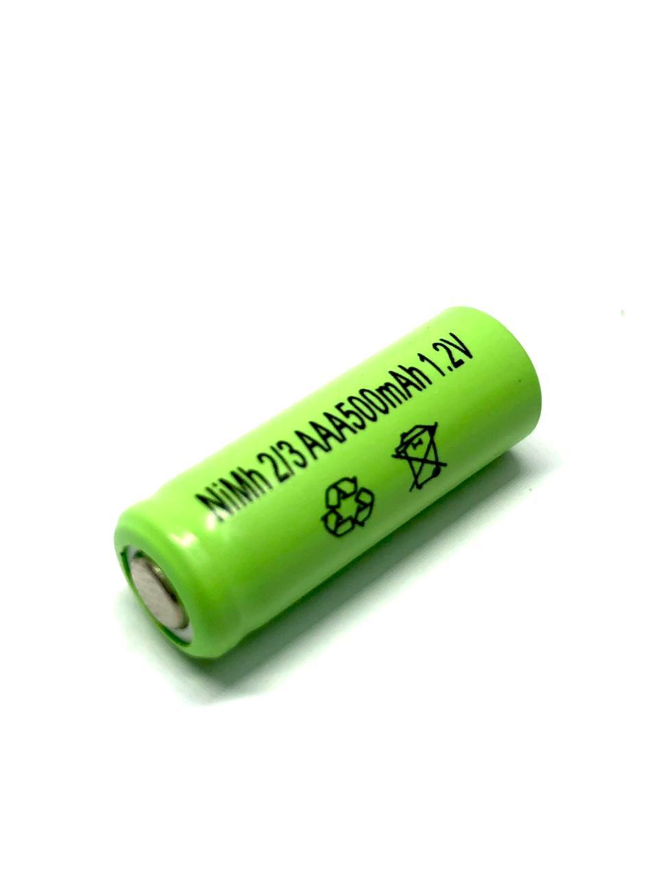 Bateria 2/3aaa 500mah Ni-Mh Planet Battery1,2v